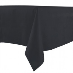 Tablecloth 140x140 TNT Black 25 Tablecloth
