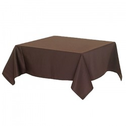 Tablecloth 100x100 TNT Brown 25 Tablecloth