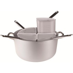 Medium Cookpot - 4 Strainers 36 cm