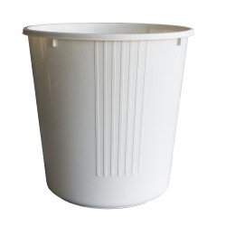Open waste paper basket