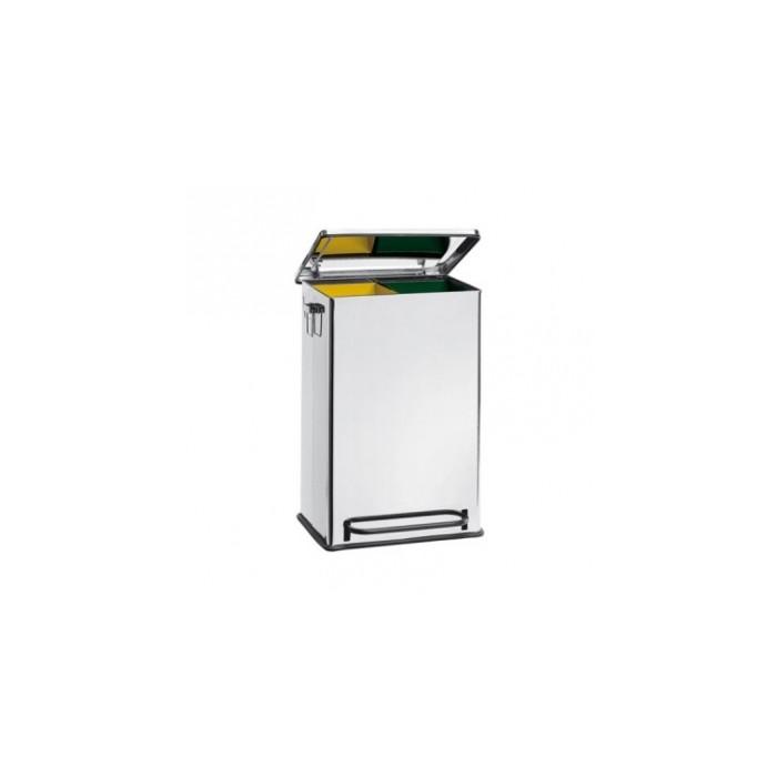 Stainless Steel dust bin 2 inner basket