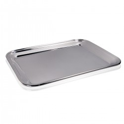 Bar Tray - S/Steel 18/10 34x27 cm.