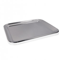 Bar Tray - S/Steel 18/10. 40x32 cm.