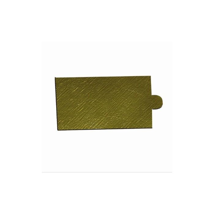 Vassoio Oro 9 x 5 cm 200 pezzi