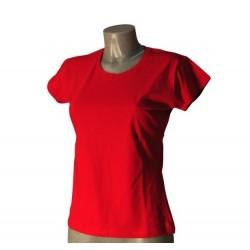 T-Shirt Donna Rossa Taglia S