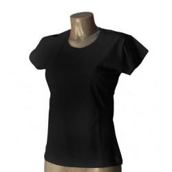 T-Shirt Donna Nera Taglia S