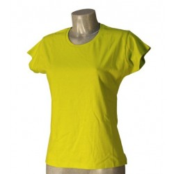 T-Shirt Donna Verde Lime Taglia XL