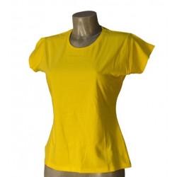 T-Shirt Donna Gialla Taglia S