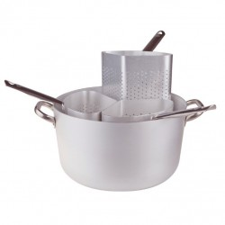 Large Cookpot - 3 Strainers 38 cm
