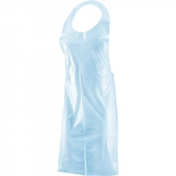 Aprons in Polythene 68x125 23mc 100 pezzi