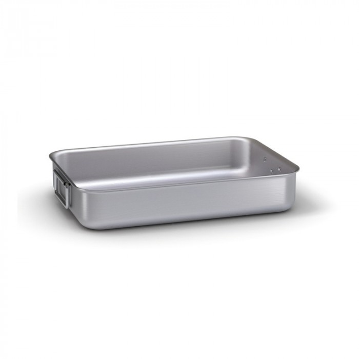 Deep Baking Tray - 2 Handles 50x38 cm Pardini