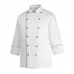 Giacca Cuoco Profilo Nero Taglia Large