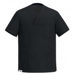 Half-Sleeve Tunic Black Unisex -M-
