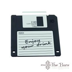 Sottobicchiere Floppy Disk 12 pezzi