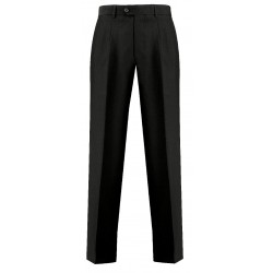 Pantalone Uomo Nero Taglia 52