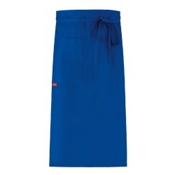 Apron without Bib with Pocket - Blue