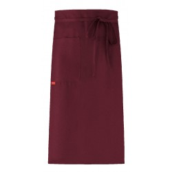 Apron without top with Pocket - Bordeaux