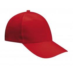 Cappello Baseball Rosso 2 pezzi
