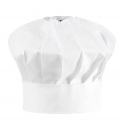 Cappello Cuoco Bianco 2 pezzi
