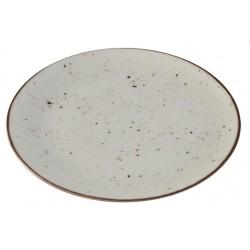 Piatto Piano Avorio 27,5 cm 6 pezzi