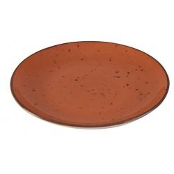 Piatto Piano Arancio 27,5 cm 6 pezzi