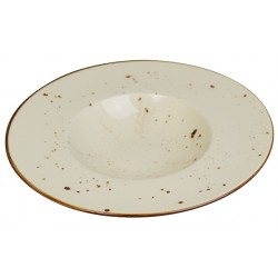 Piatto Pasta Avorio 27 cm 6 pezzi