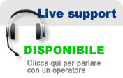 Live Support Disponibile