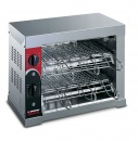 Toaster - Horizontal with 6 pliers and quartz cubes 12T 3600W