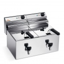 Electric Fryer - Counter top  8+8 Ltr. 220V