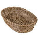 Natural Oval Basket 30x20x7 cm