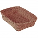 Natural Rect. Basket 30x21,5x7 cm