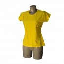T-shirt  Woman  Yellow Size L