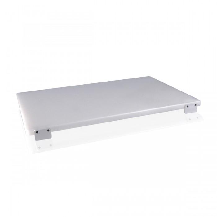 Tagliere Polietilene Bianco 60x40x2 cm