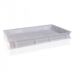 Perforated Service Box - 60x40x7 cm