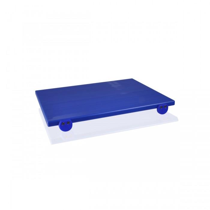 Tagliere Polietilene Blu 50x40x2 cm