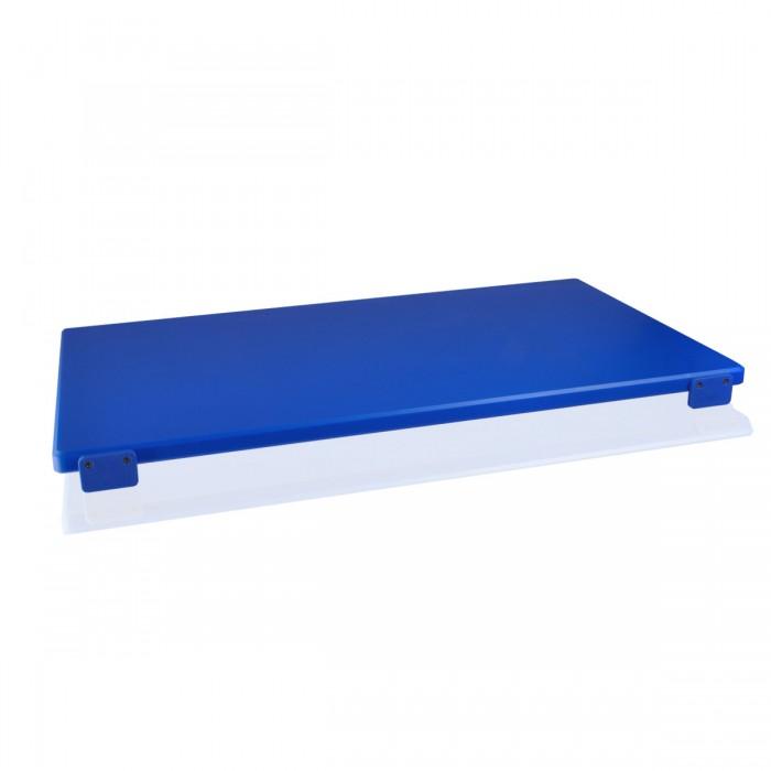 Tagliere Polietilene Blu 60x40x2 cm