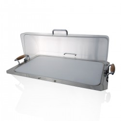 Buffet Tray with Roll Top Cover
