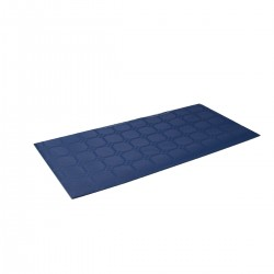 Polythene Paper Tablecloth Blue 100x100