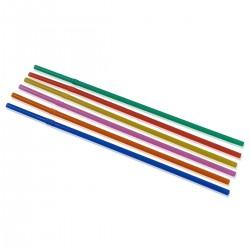 Cannucce Flessibili cm. 24 Colori Misti