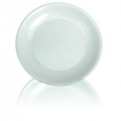 Piatto Piano Melamina bianca 23 cm