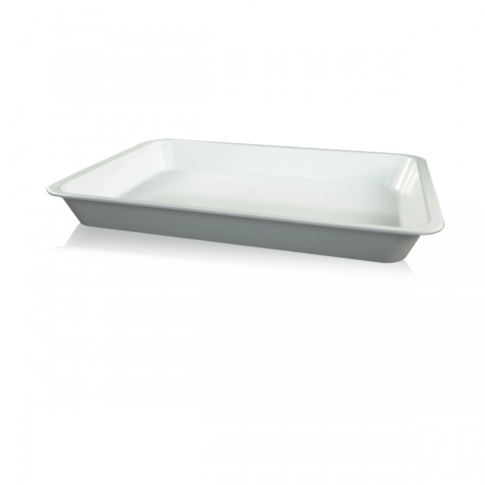 Vaschetta melamina bianca 35x25x4 cm