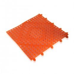 Tappeto bar cm.30x30 colore arancio