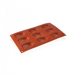 Stampo silicone Madeleine 6.8x4.5x1.7