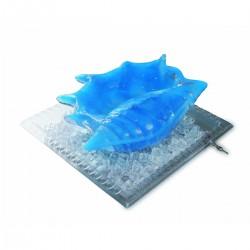 Vassoio trasparente 57x57x8 cm Martellato