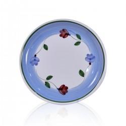 Piatto petali frutta 21cm