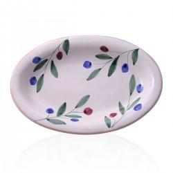 Piatto olivella ovale 26x16cm