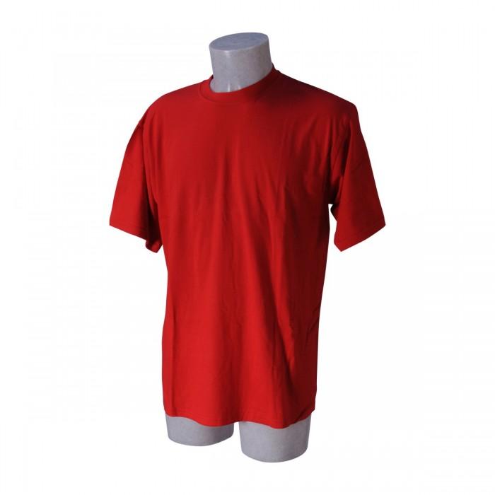 T-shirt uomo rossa Tg.XXL