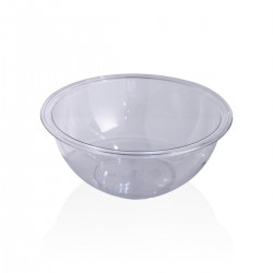 Insalatiera Plastica Trasparente 22 cm