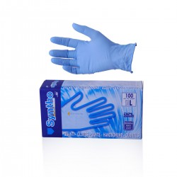 Disposable nitrile gloves Syntho 100 pcs - Size L 8-8,5