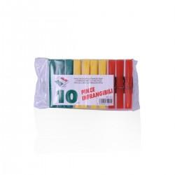 Mollette da bucato in Plastica - 10 pezzi